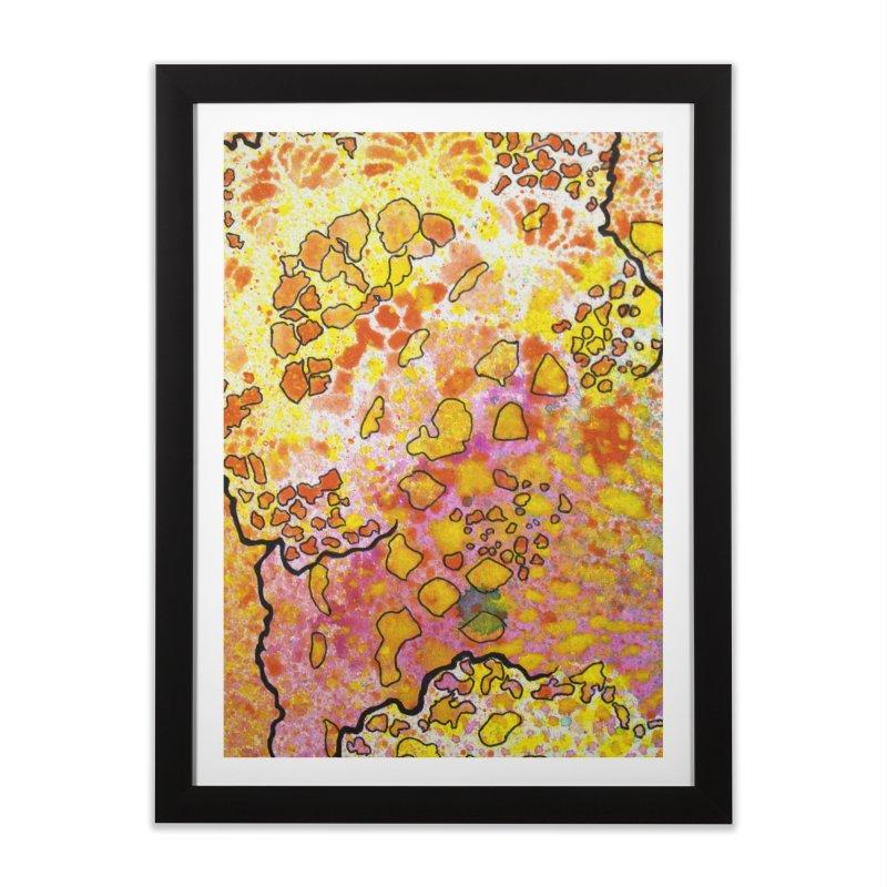 9, Inset B Home Framed Fine Art Print by Katie Schutte Art