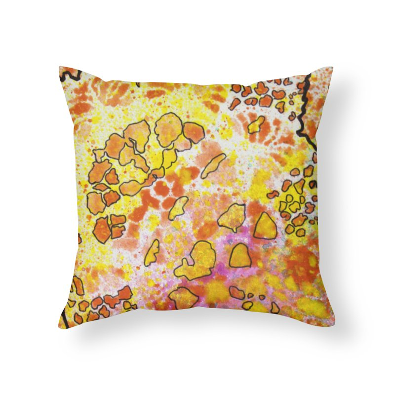 9, Inset B Home Throw Pillow by Katie Schutte Art