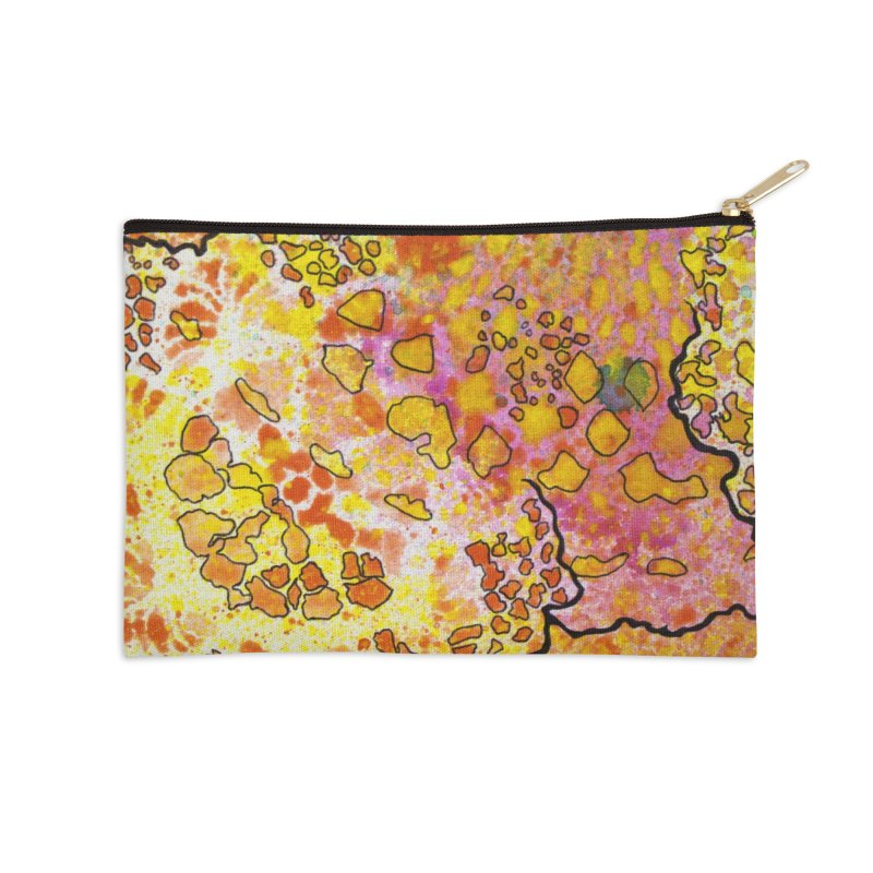 9, Inset B Accessories Zip Pouch by Katie Schutte Art