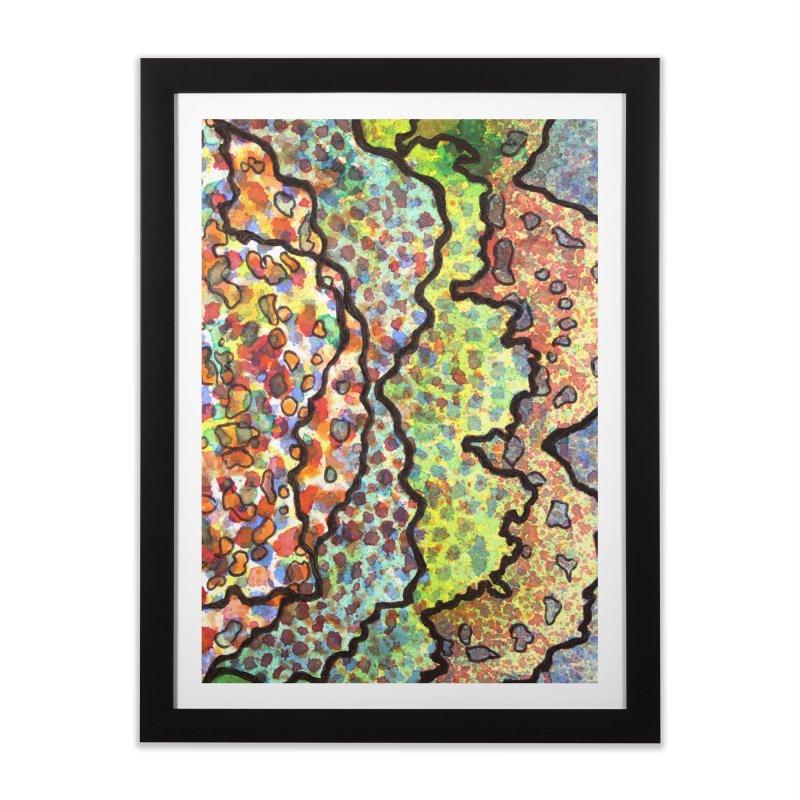 11, Inset A Home Framed Fine Art Print by Katie Schutte Art