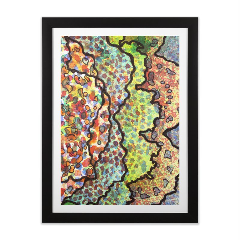 11, Inset A Home Framed Fine Art Print by Katie Schutte Art