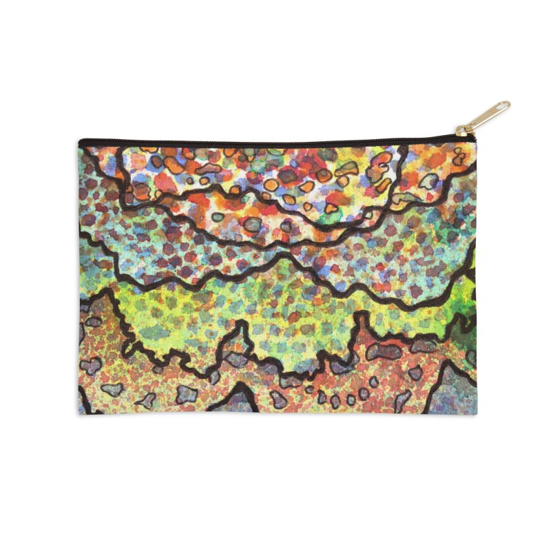 11, Inset A Accessories Zip Pouch by Katie Schutte Art