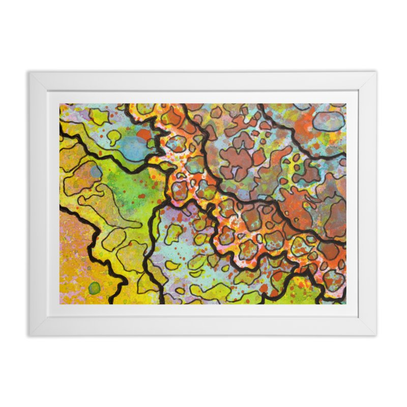 13, Inset A Home Framed Fine Art Print by Katie Schutte Art