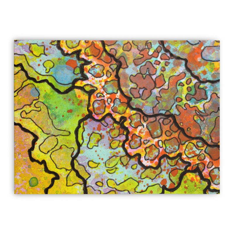 13, Inset A Home Stretched Canvas by Katie Schutte Art