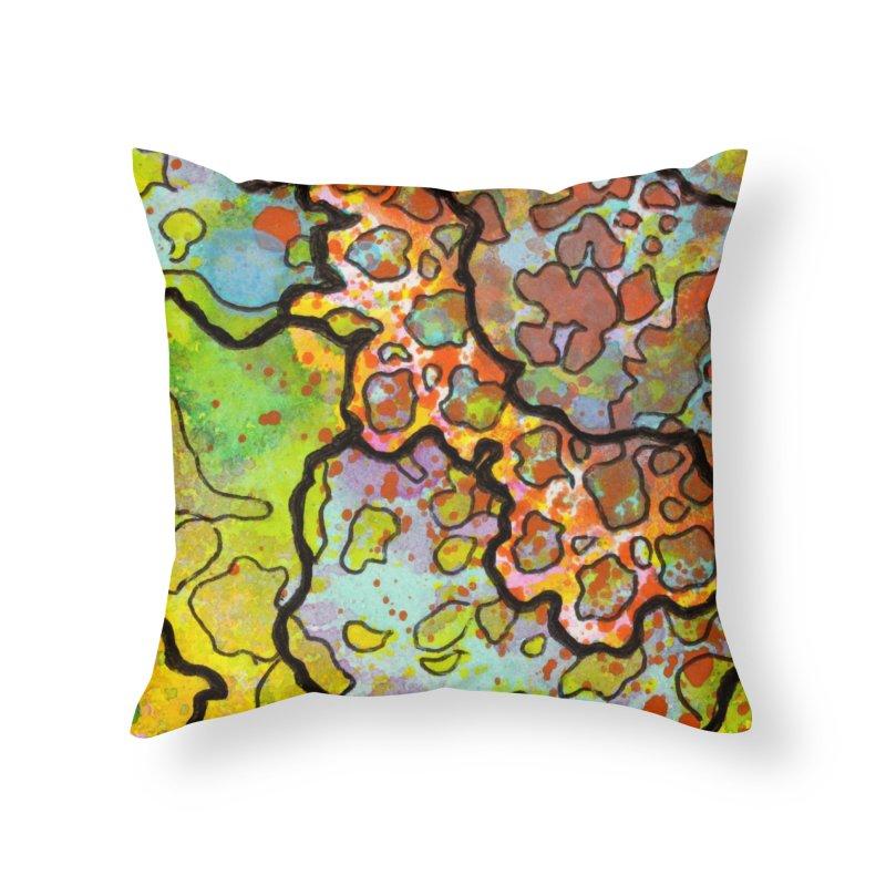 13, Inset A Home Throw Pillow by Katie Schutte Art