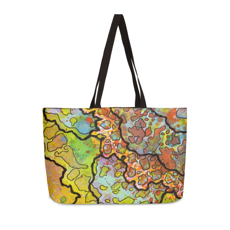 13, Inset A Accessories Weekender Bag Bag by Katie Schutte Art