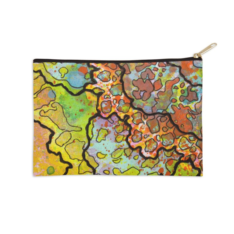 13, Inset A Accessories Zip Pouch by Katie Schutte Art