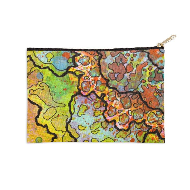 13, Inset A Accessories Zip Pouch by Katie Schutte Art
