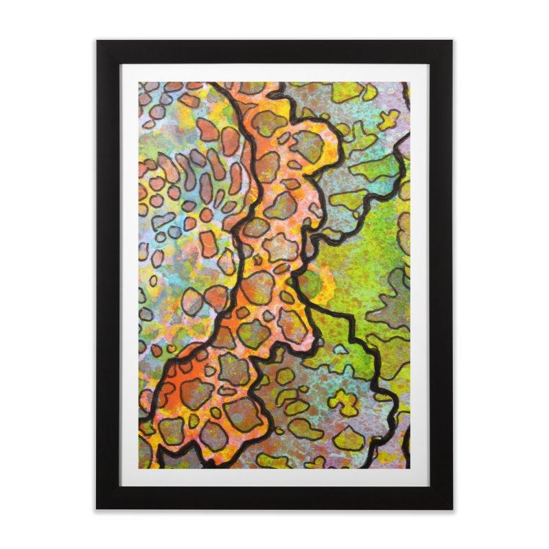 13, Inset B Home Framed Fine Art Print by Katie Schutte Art