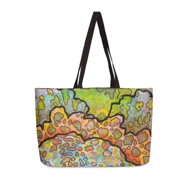 13, Inset B Accessories Weekender Bag Bag by Katie Schutte Art