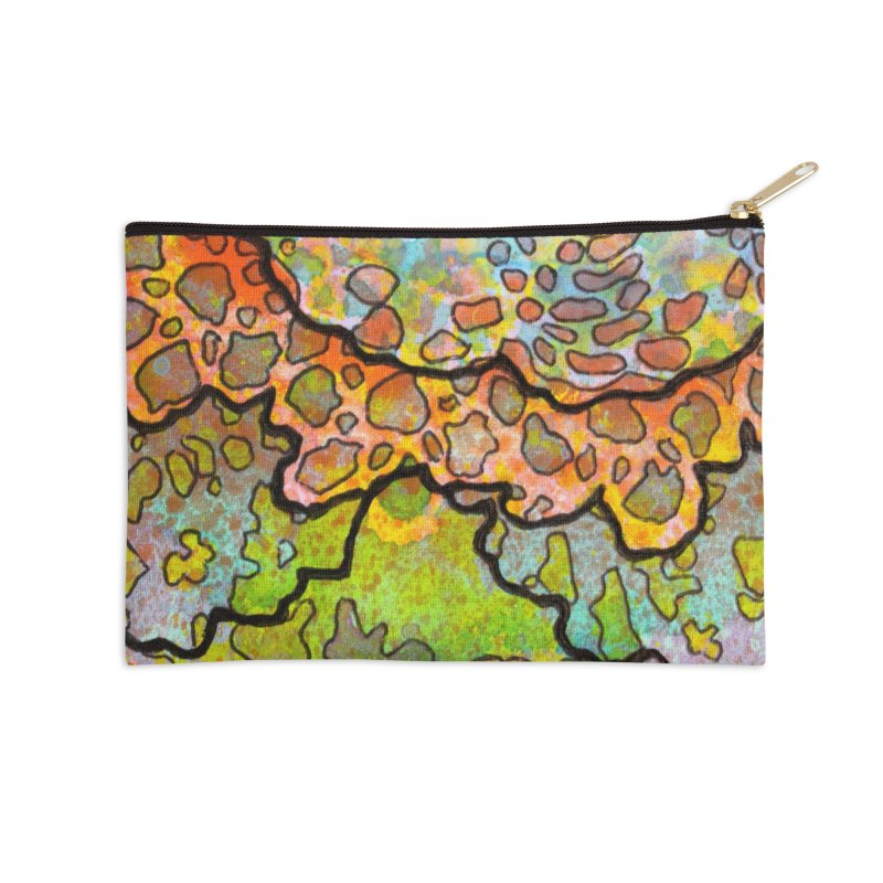 13, Inset B Accessories Zip Pouch by Katie Schutte Art