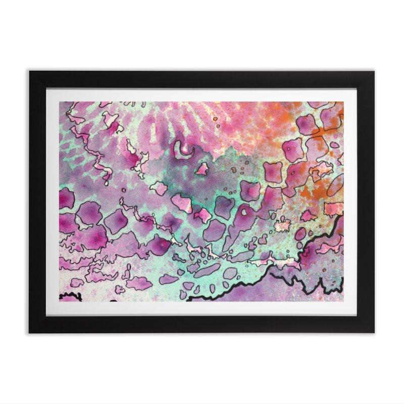 15, Inset A Home Framed Fine Art Print by Katie Schutte Art