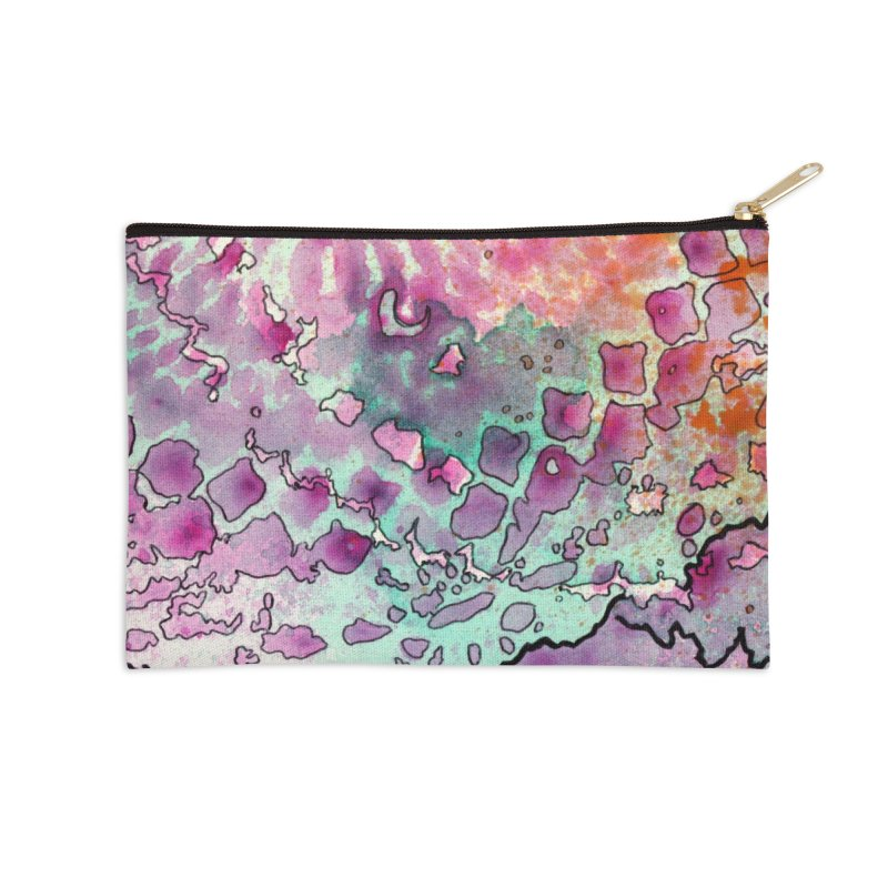 15, Inset A Accessories Zip Pouch by Katie Schutte Art