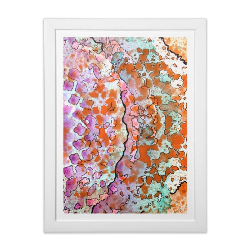15, Inset B Home Framed Fine Art Print by Katie Schutte Art
