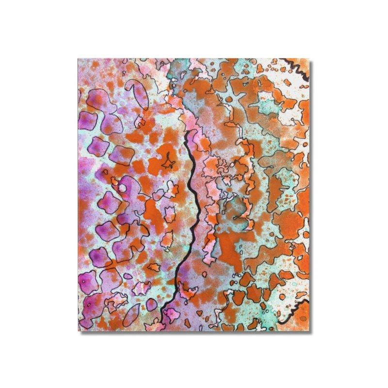 15, Inset B Home Mounted Acrylic Print by Katie Schutte Art