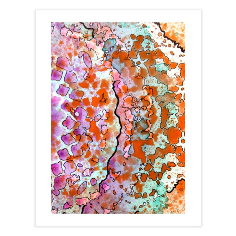 15, Inset B Home Fine Art Print by Katie Schutte Art
