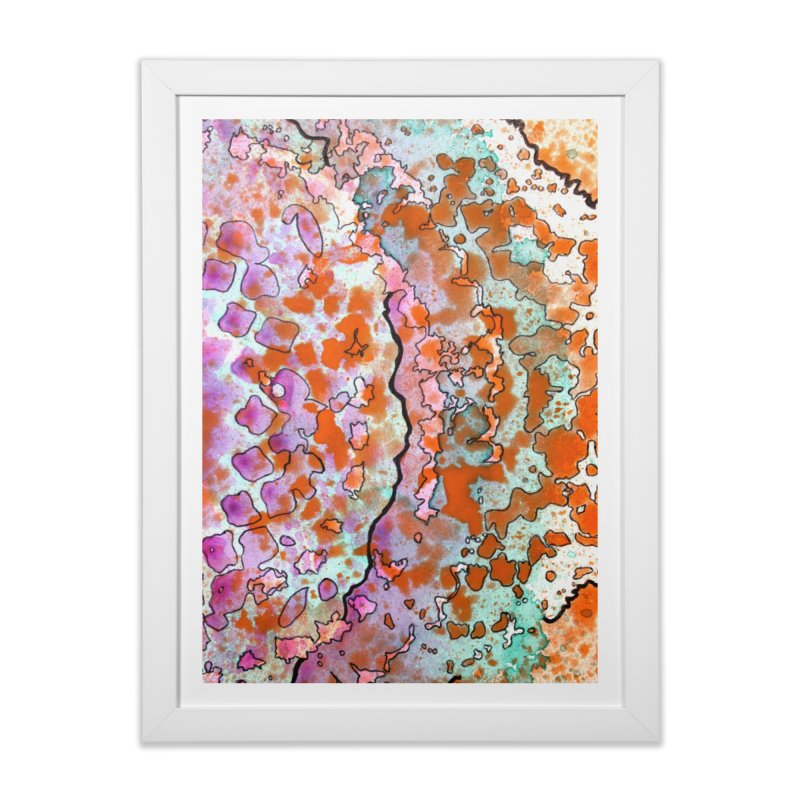 15, Inset B Home Framed Fine Art Print by Katie Schutte Art