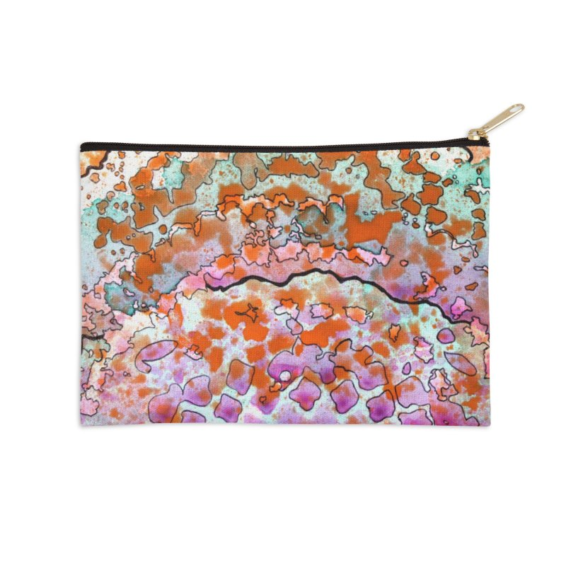 15, Inset B Accessories Zip Pouch by Katie Schutte Art