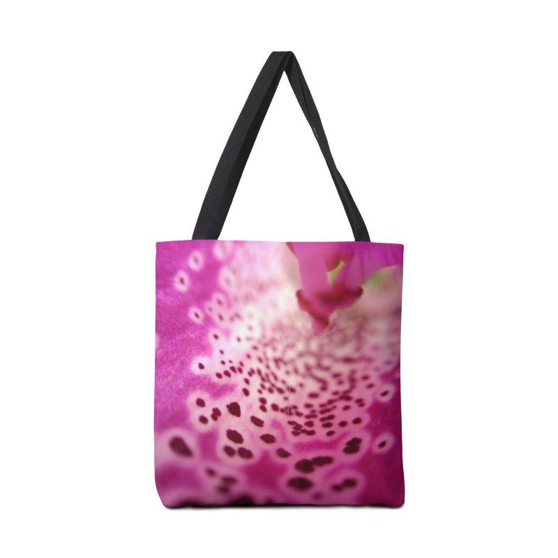 Foxglove Accessories Bag by Katie Schutte Art