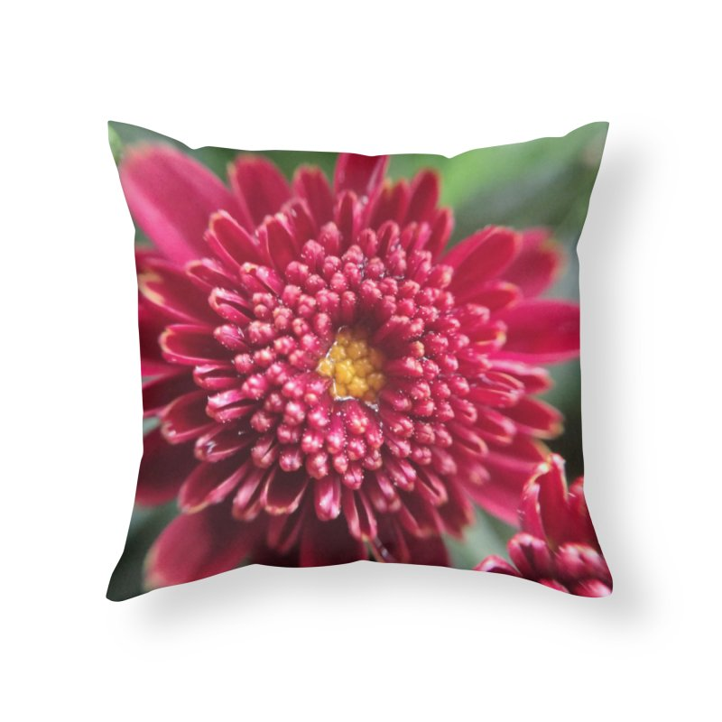 Dew Home Throw Pillow by Katie Schutte Art