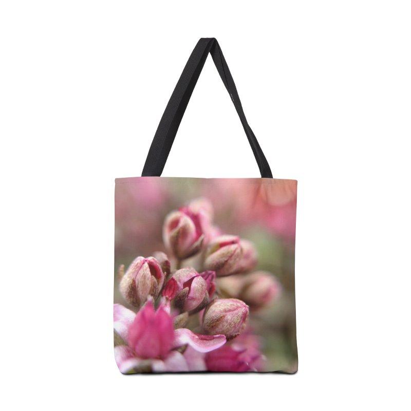 Cluster Buds Accessories Bag by Katie Schutte Art