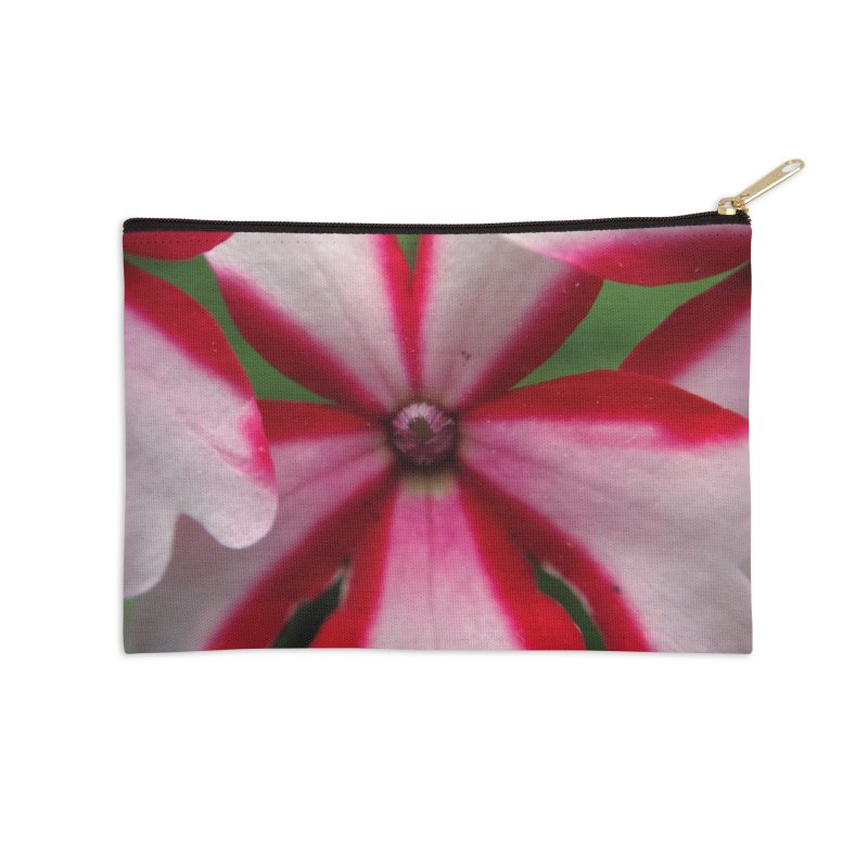 Pink Stripes 1 Accessories Zip Pouch by Katie Schutte Art