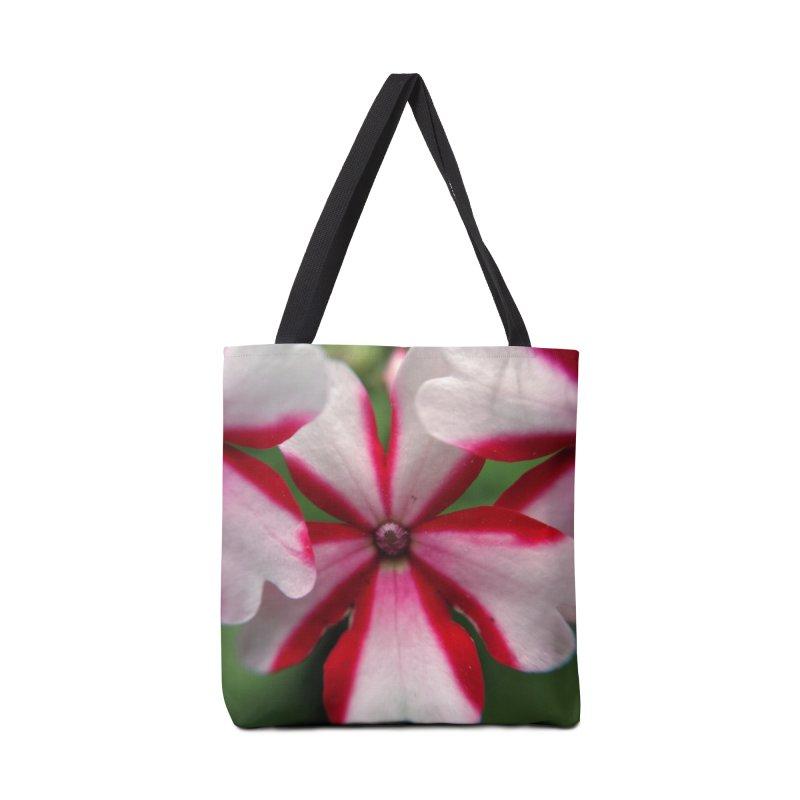 Pink Stripes 1 Accessories Bag by Katie Schutte Art