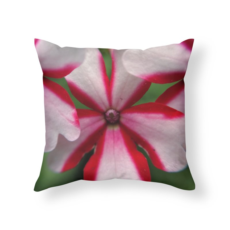 Pink Stripes 1 Home Throw Pillow by Katie Schutte Art
