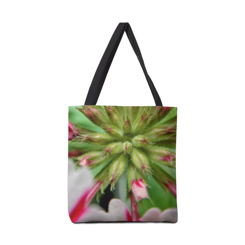 Pink Stripes 2 Accessories Tote Bag Bag by Katie Schutte Art