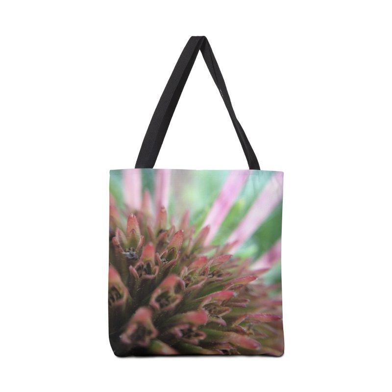 Coneflower Accessories Bag by Katie Schutte Art