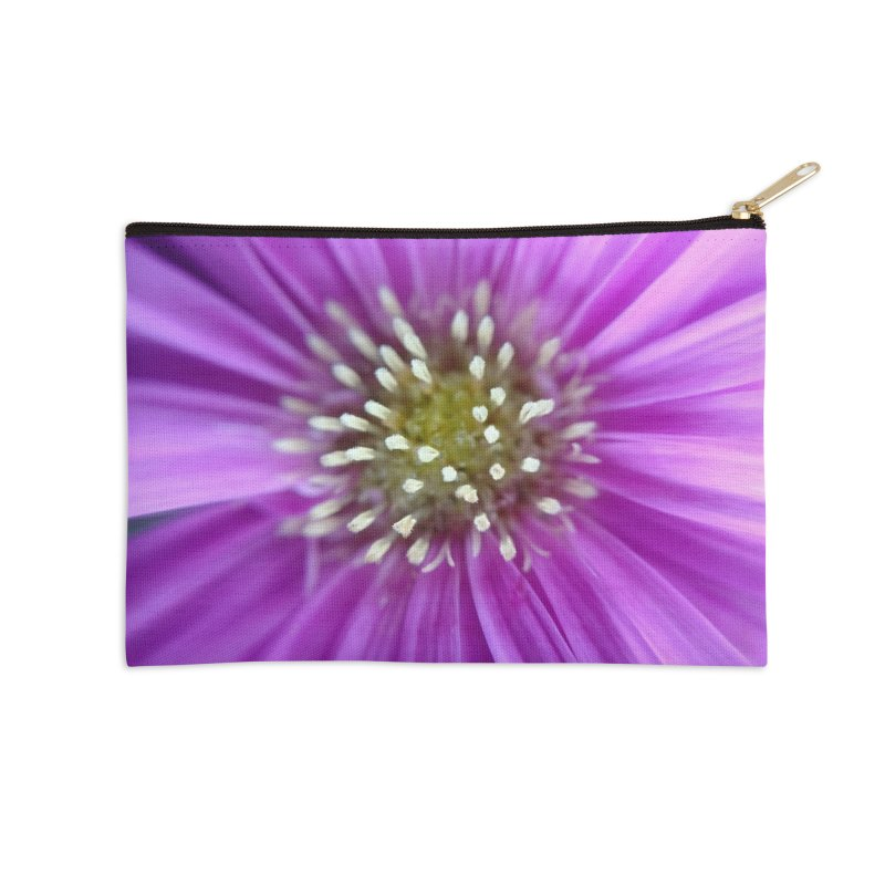 Purple Sun Accessories Zip Pouch by Katie Schutte Art