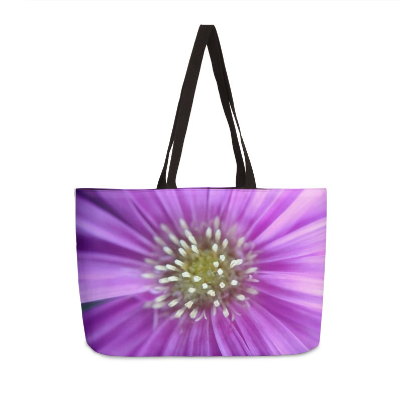 Purple Sun Accessories Weekender Bag Bag by Katie Schutte Art
