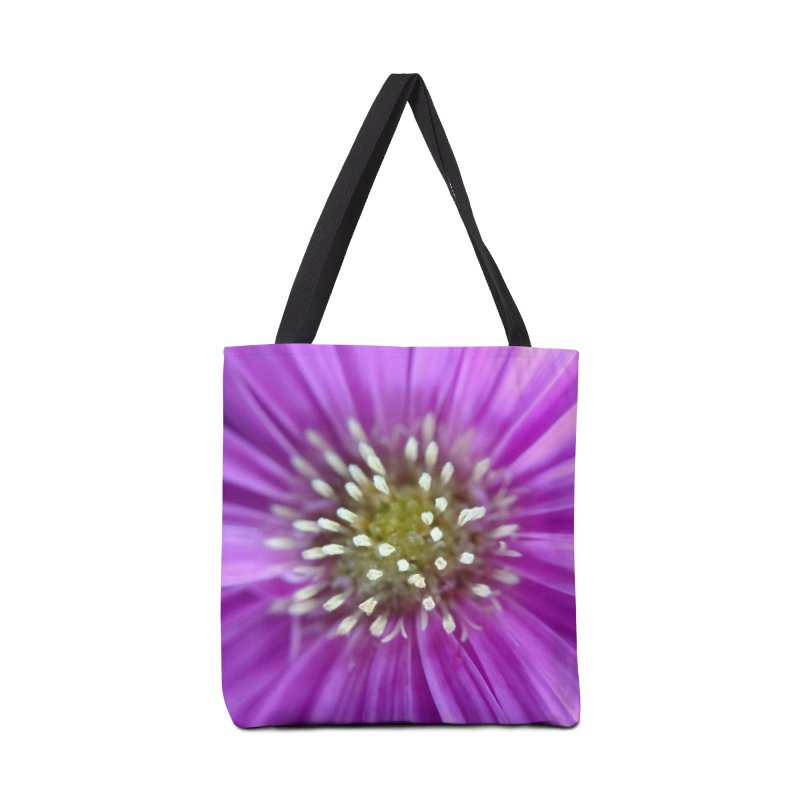 Purple Sun Accessories Bag by Katie Schutte Art