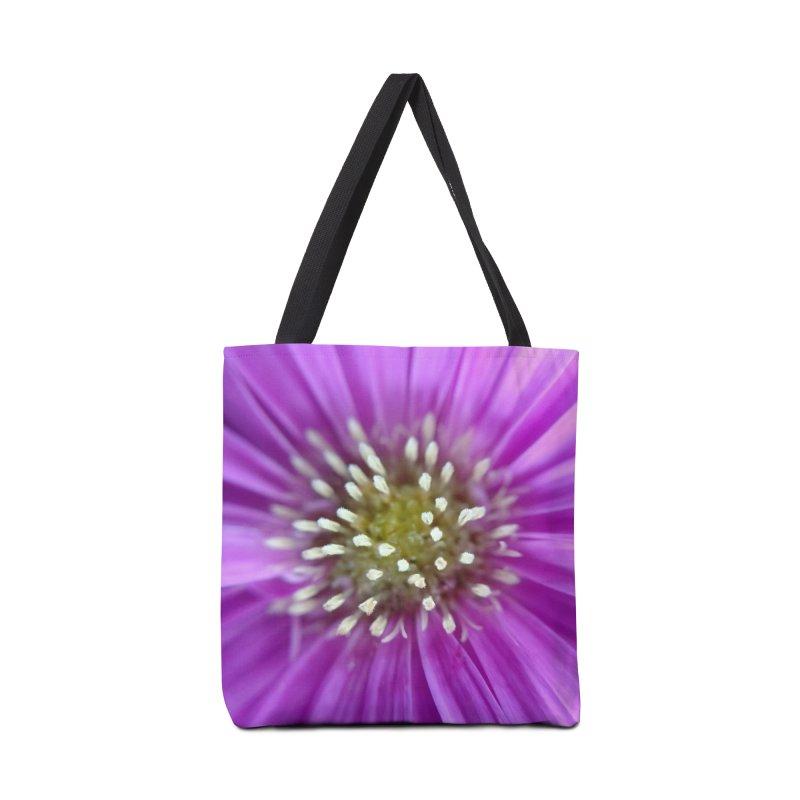 Purple Sun Accessories Bag by Katie Schutte Art