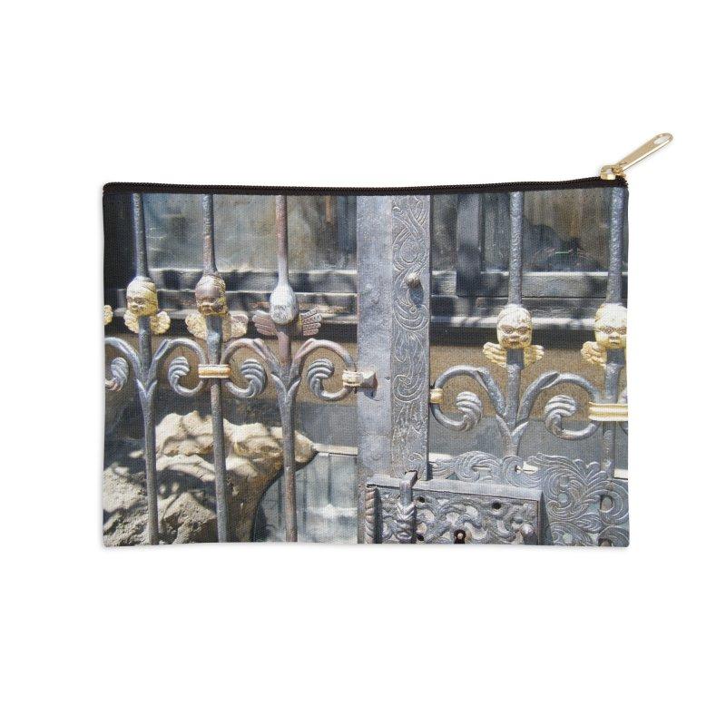 Lucky Angel Accessories Zip Pouch by Katie Schutte Art