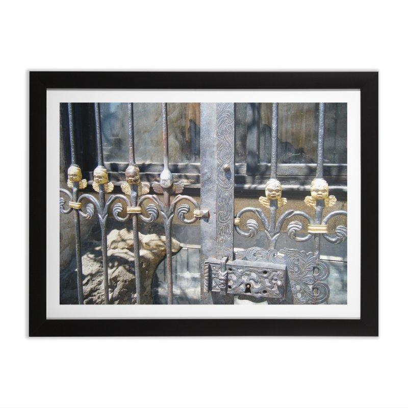 Lucky Angel Home Framed Fine Art Print by Katie Schutte Art