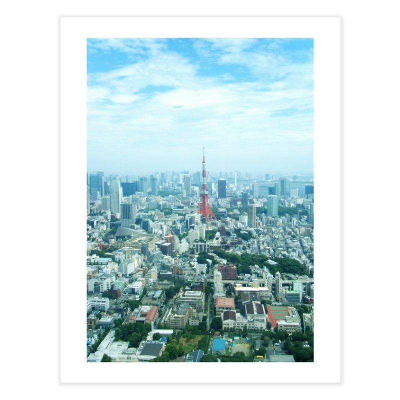 Tokyo Home Fine Art Print by Katie Schutte Art