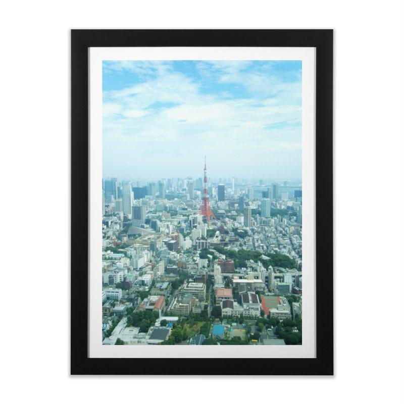 Tokyo Home Framed Fine Art Print by Katie Schutte Art