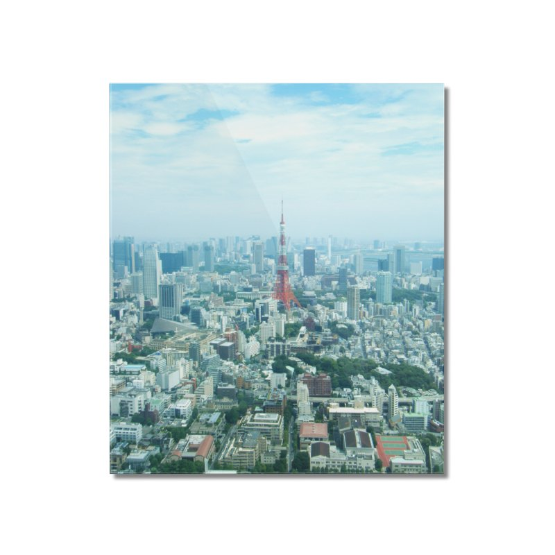 Tokyo Home Mounted Acrylic Print by Katie Schutte Art