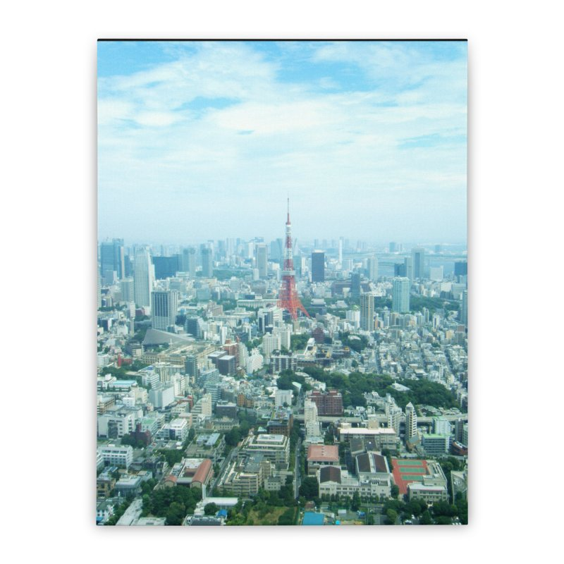 Tokyo Home Stretched Canvas by Katie Schutte Art