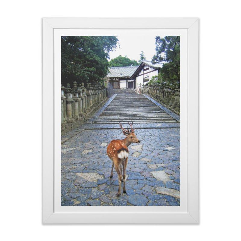 Nara 1 Home Framed Fine Art Print by Katie Schutte Art