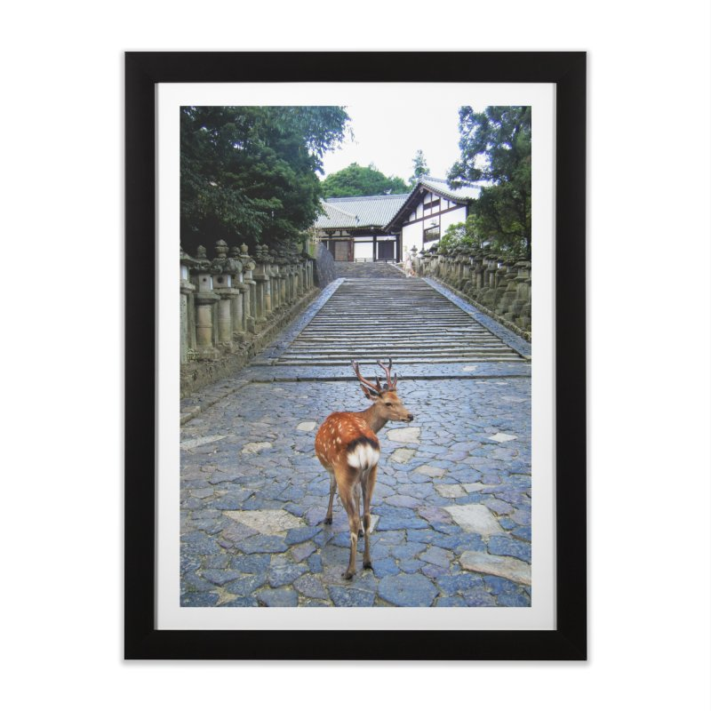 Nara 1 in Framed Fine Art Print Black by Katie Schutte Art
