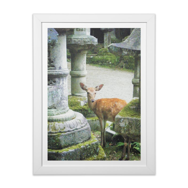 Nara 2 Home Framed Fine Art Print by Katie Schutte Art