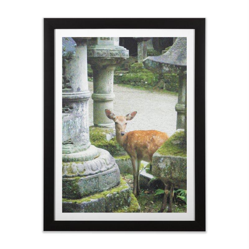 Nara 2 Home Framed Fine Art Print by Katie Schutte Art