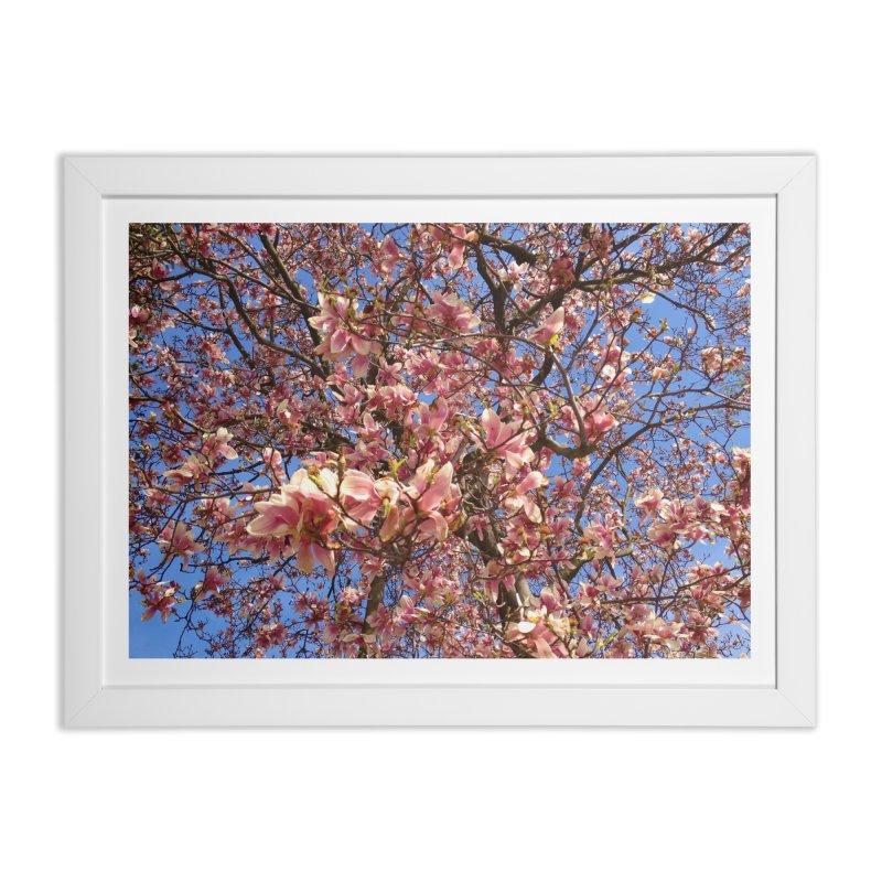 Spring Tree Home Framed Fine Art Print by Katie Schutte Art