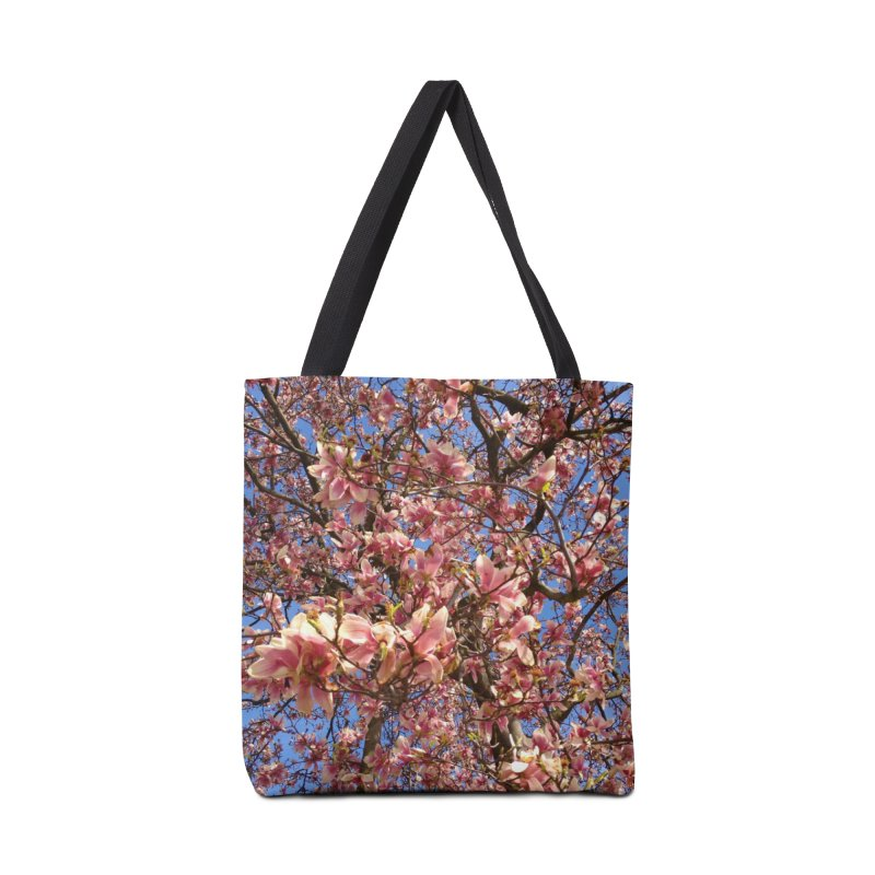 Spring Tree Accessories Bag by Katie Schutte Art