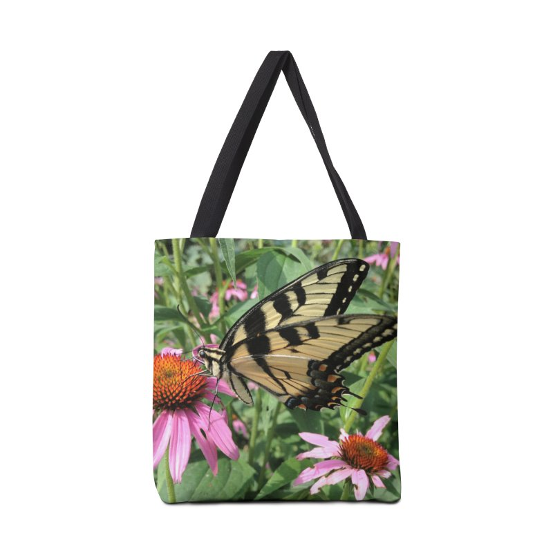 Butterfly Accessories Bag by Katie Schutte Art