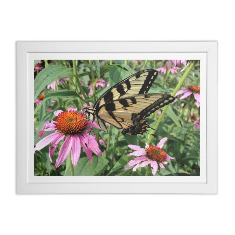 Butterfly Home Framed Fine Art Print by Katie Schutte Art
