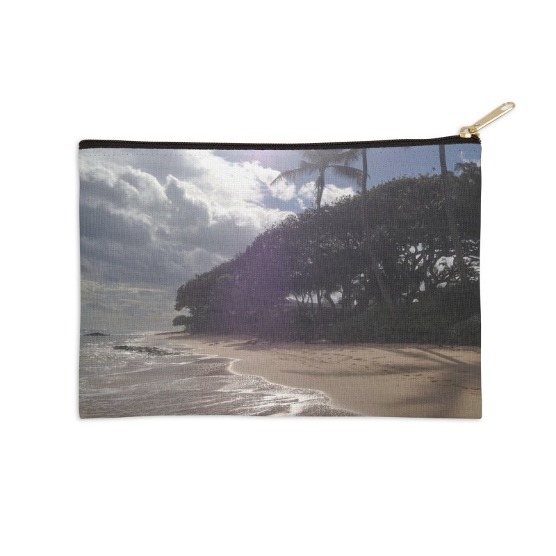 Shore Accessories Zip Pouch by Katie Schutte Art