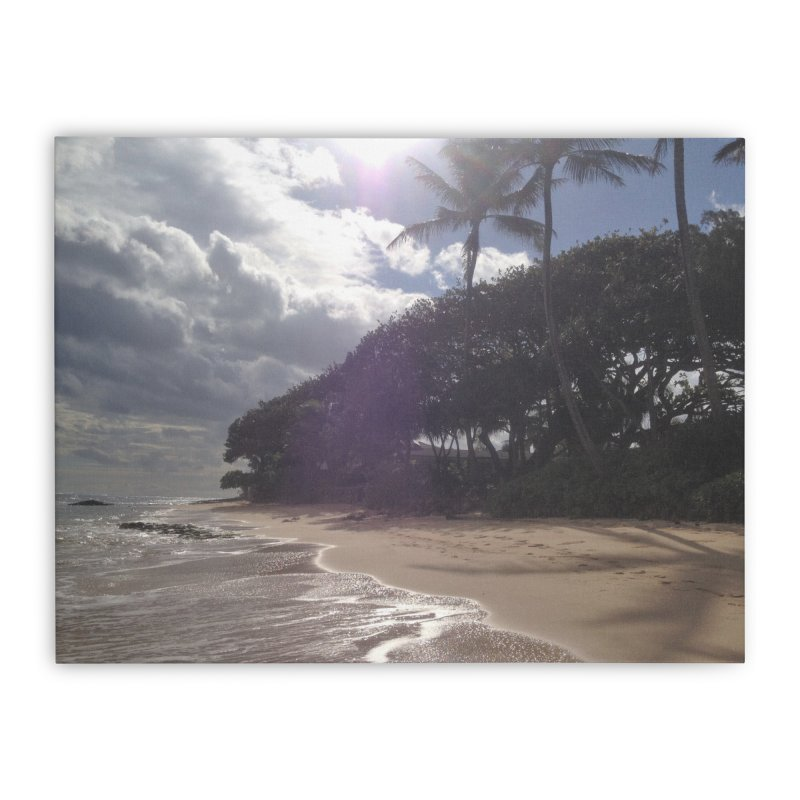 Shore Home Stretched Canvas by Katie Schutte Art